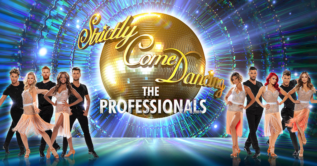 Strictly Come Dancing Title Header