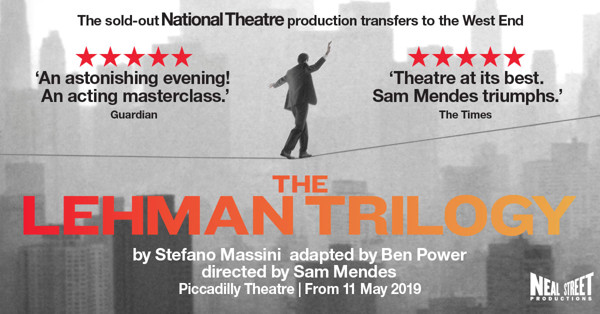 The Lehman Trilogy at Piccadilly Theatre