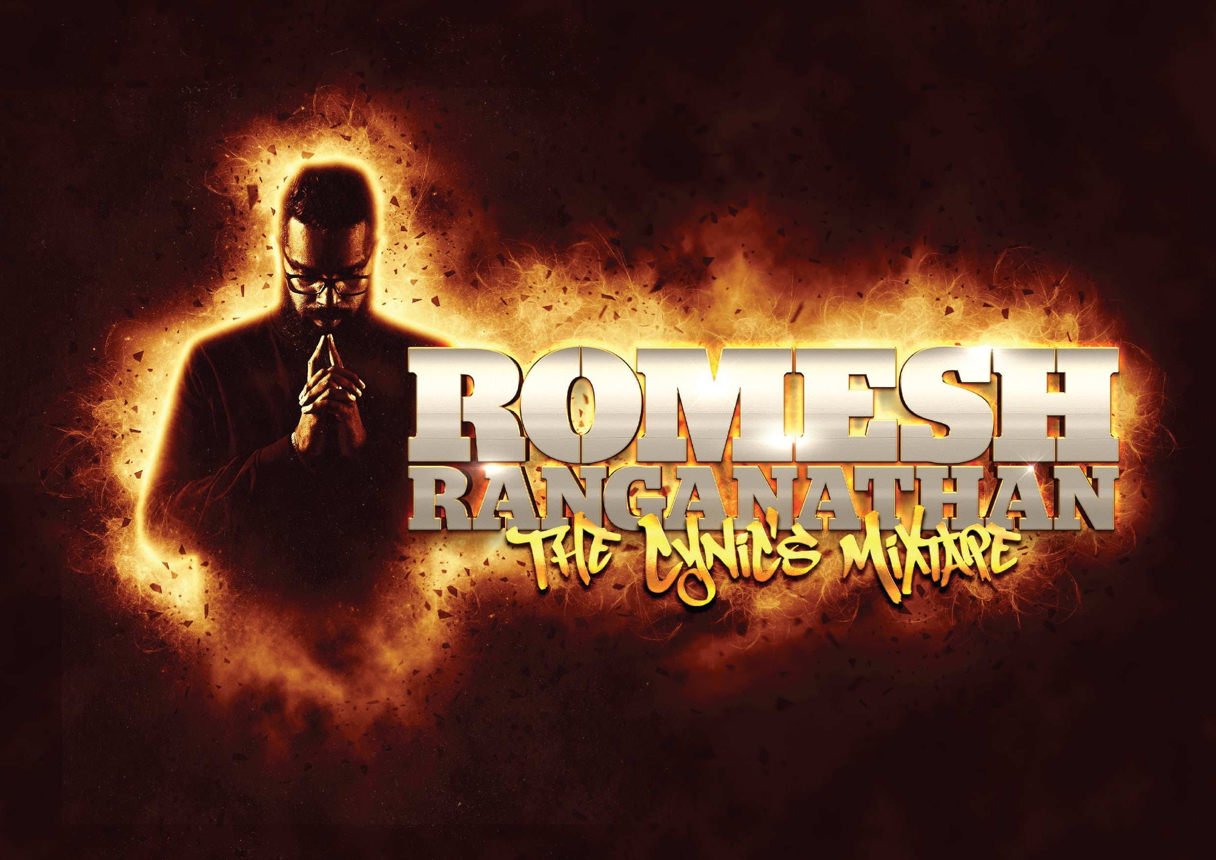 Romesh Ranganathan - The Cynics Mixtape Title Shot