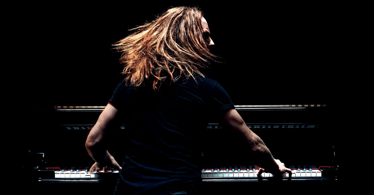 Tim Minchin - Back Prod Shot