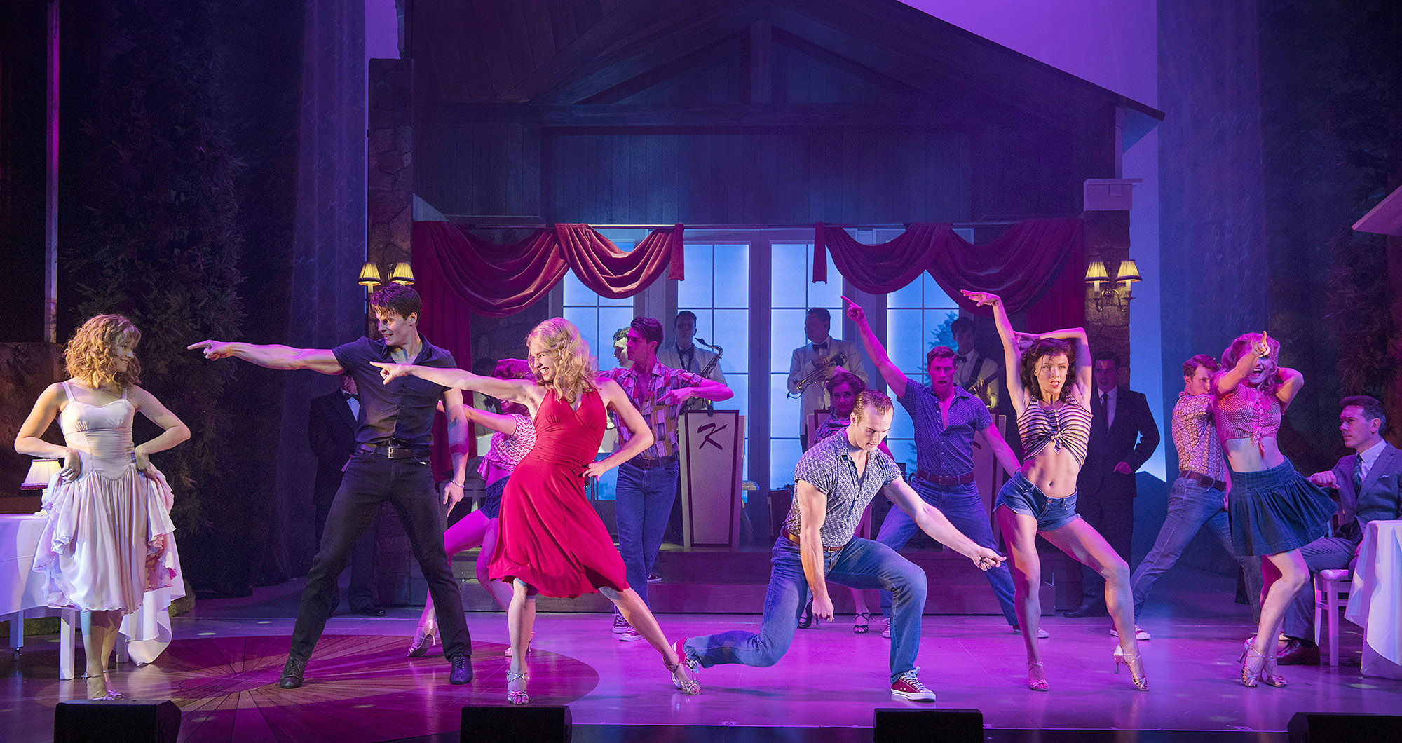 Dirty Dancing - The Classic Story On Stage Production Shot