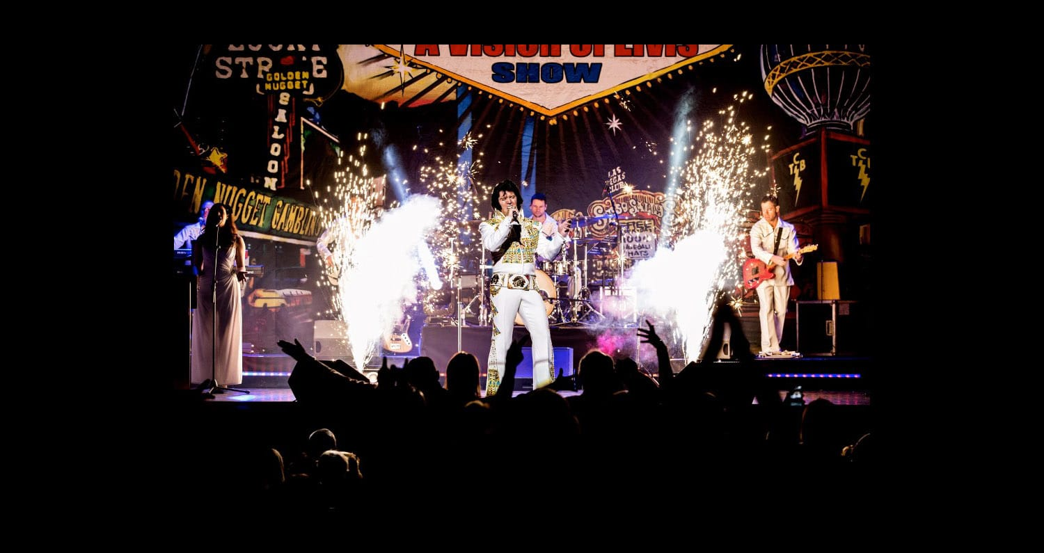 A Vision of Elvis Production Shot
