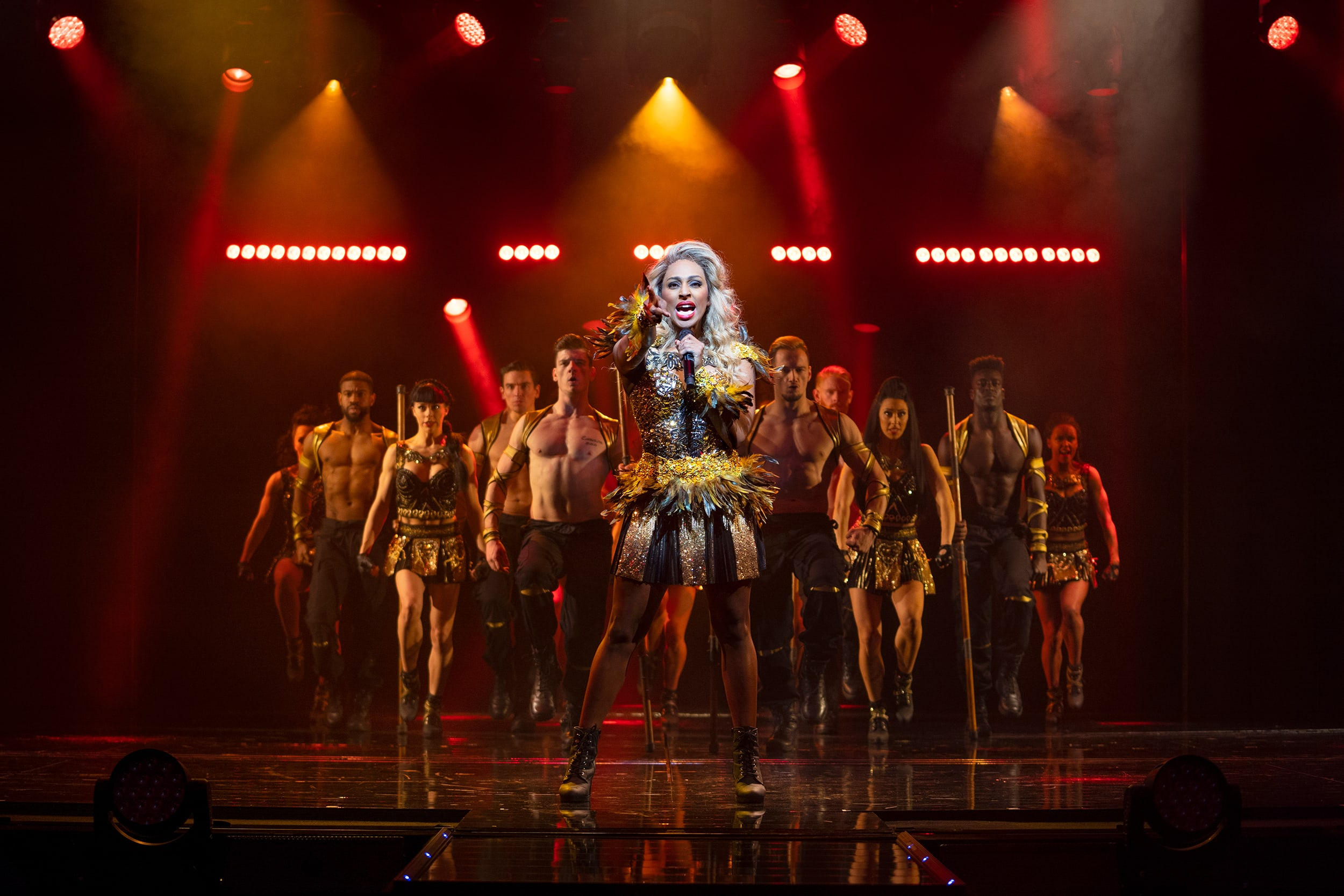 The Bodyguard Production Shot