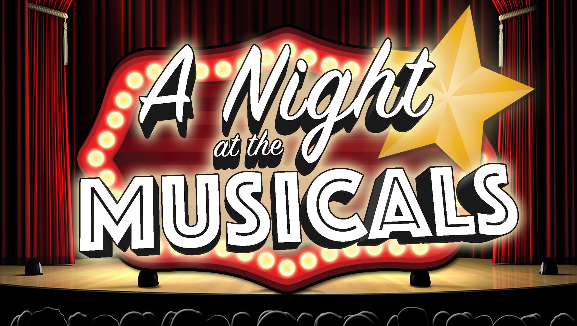 A Night at the musicals title