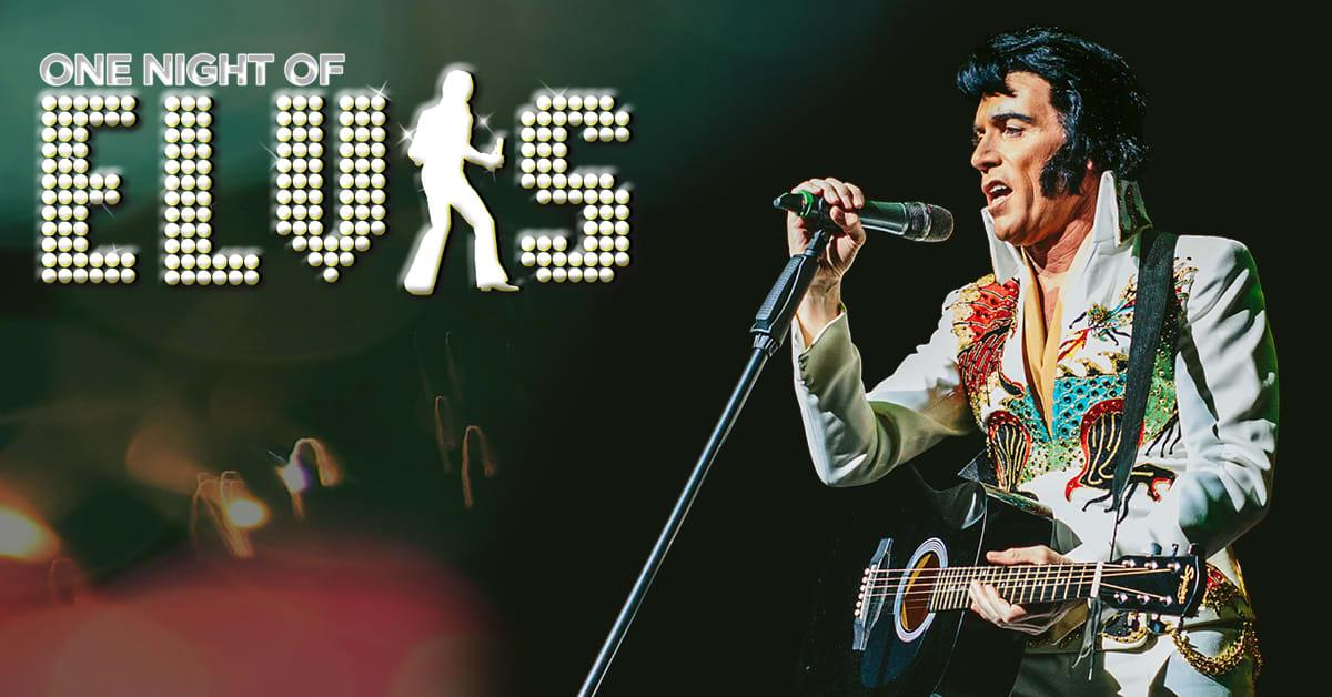 One Night of Elvis - Lee 'Memphis' King Prod Shot