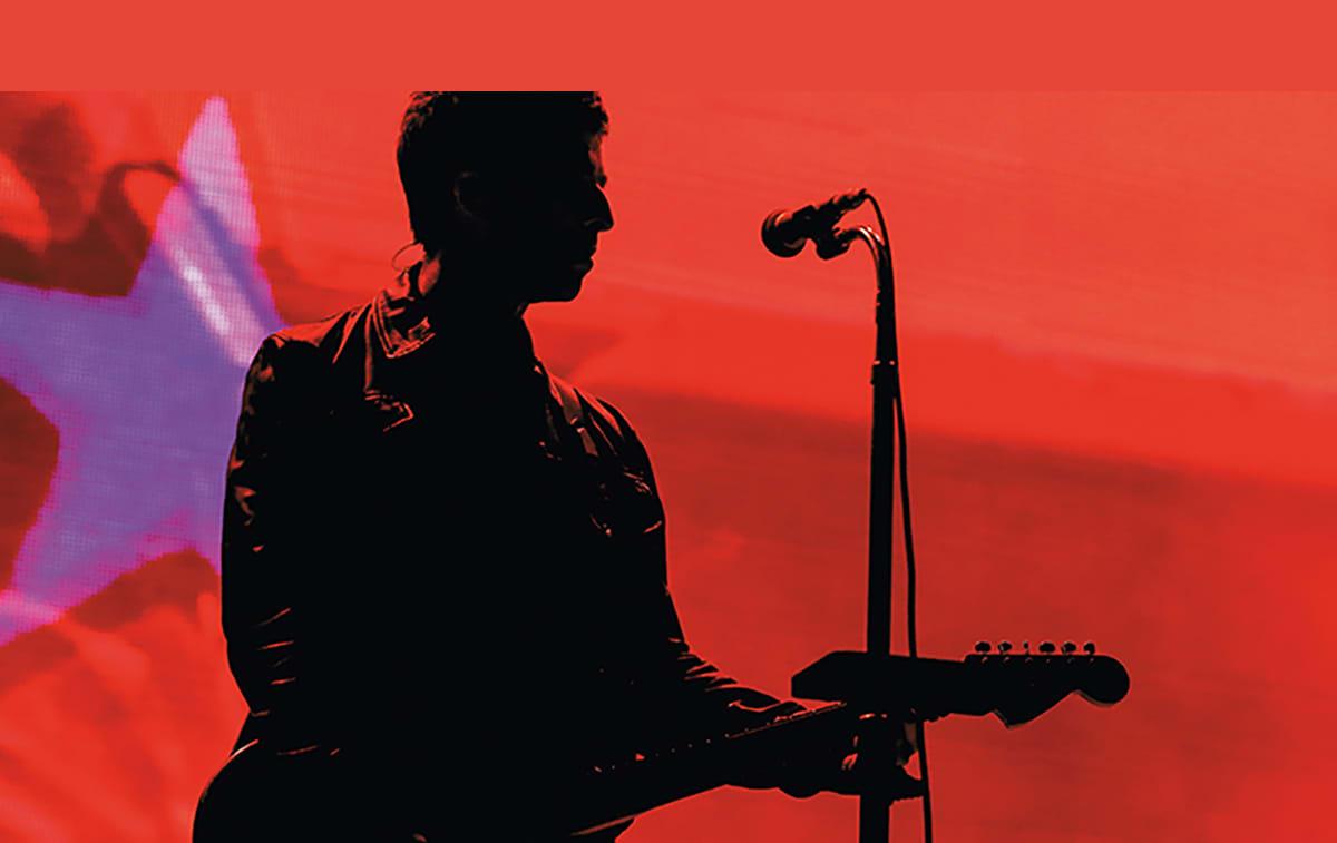 Noel Gallaghers High Flying Birds Production Shot