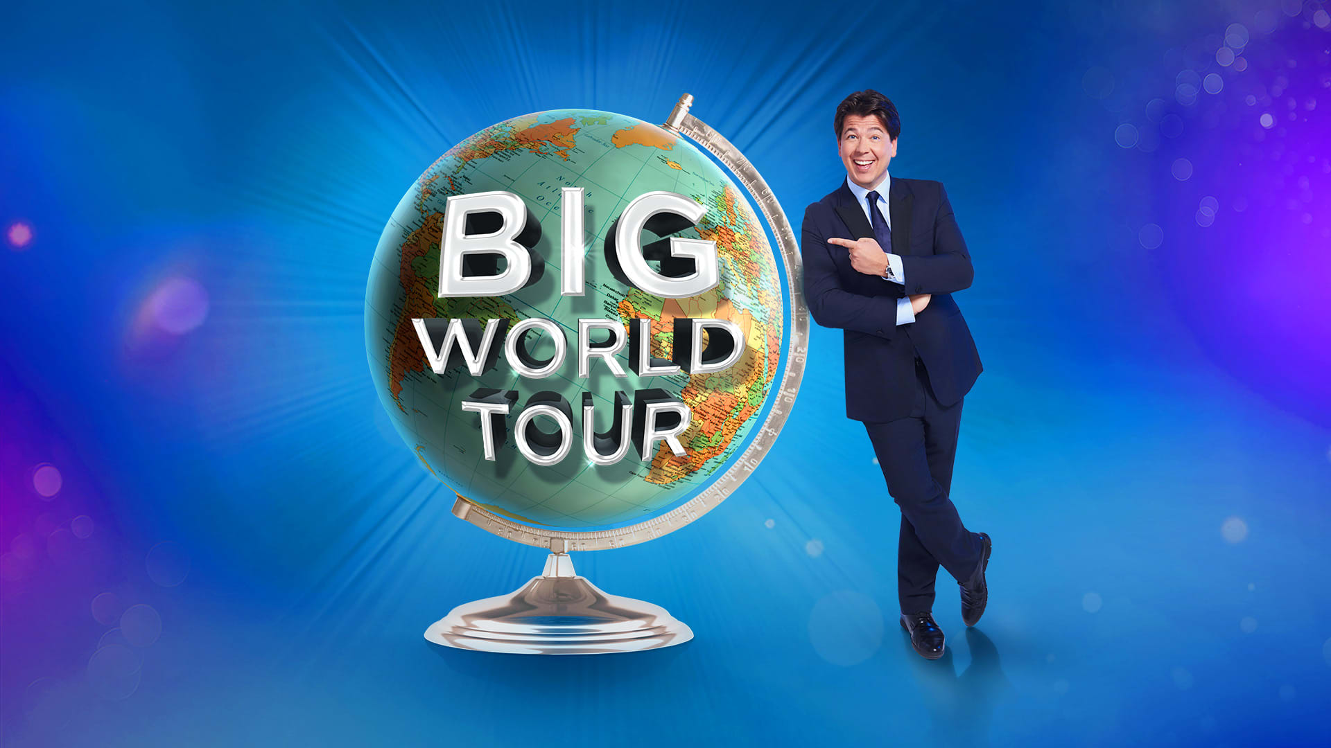 Michael McIntyre: Big World Tour Continued - Warm Up Show Production Shot