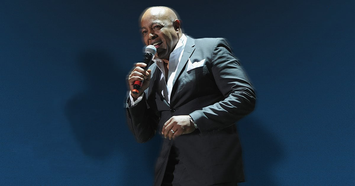 The Songs of Barry White starring Peabo Bryson Production Shot