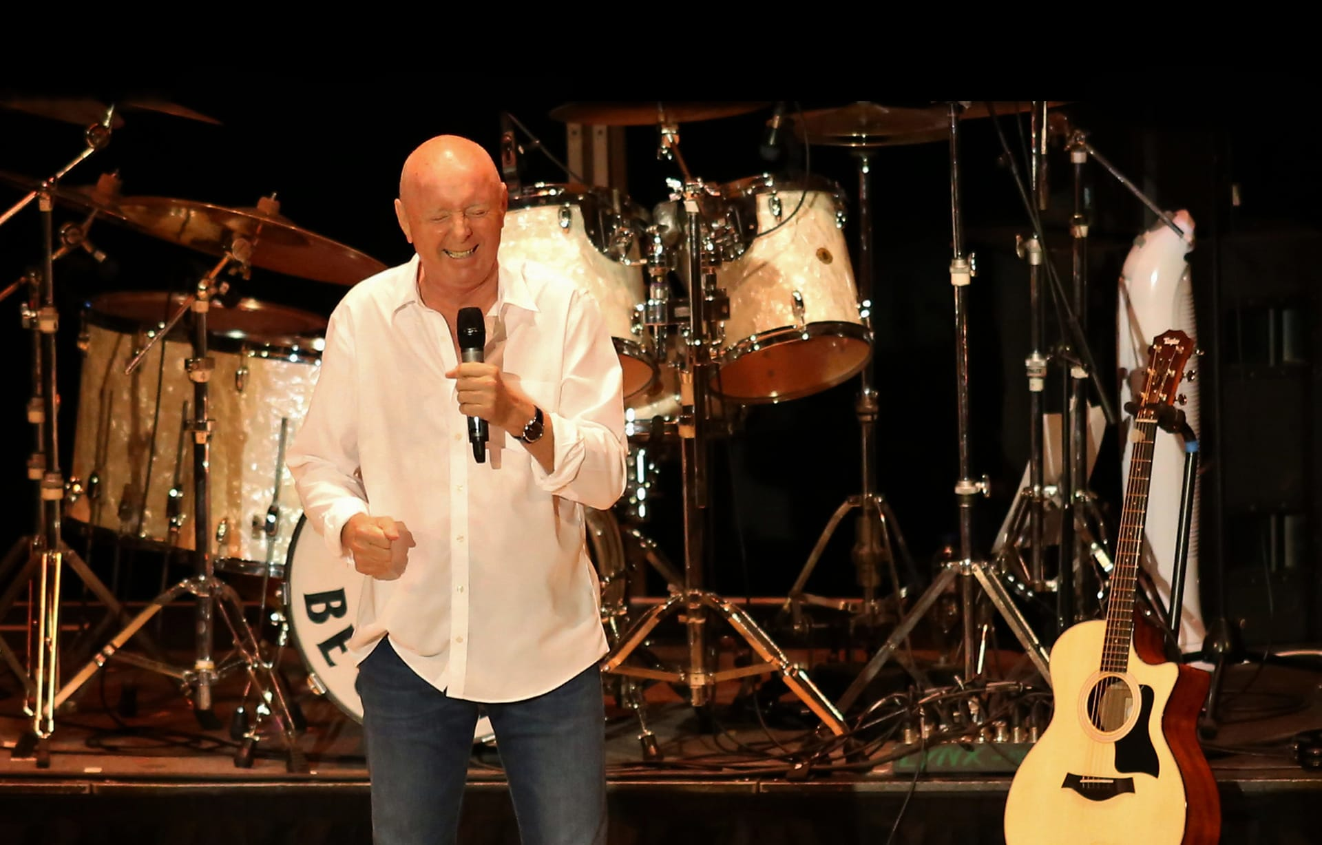 Jasper Carrott Stand Up and Rock Production Shot