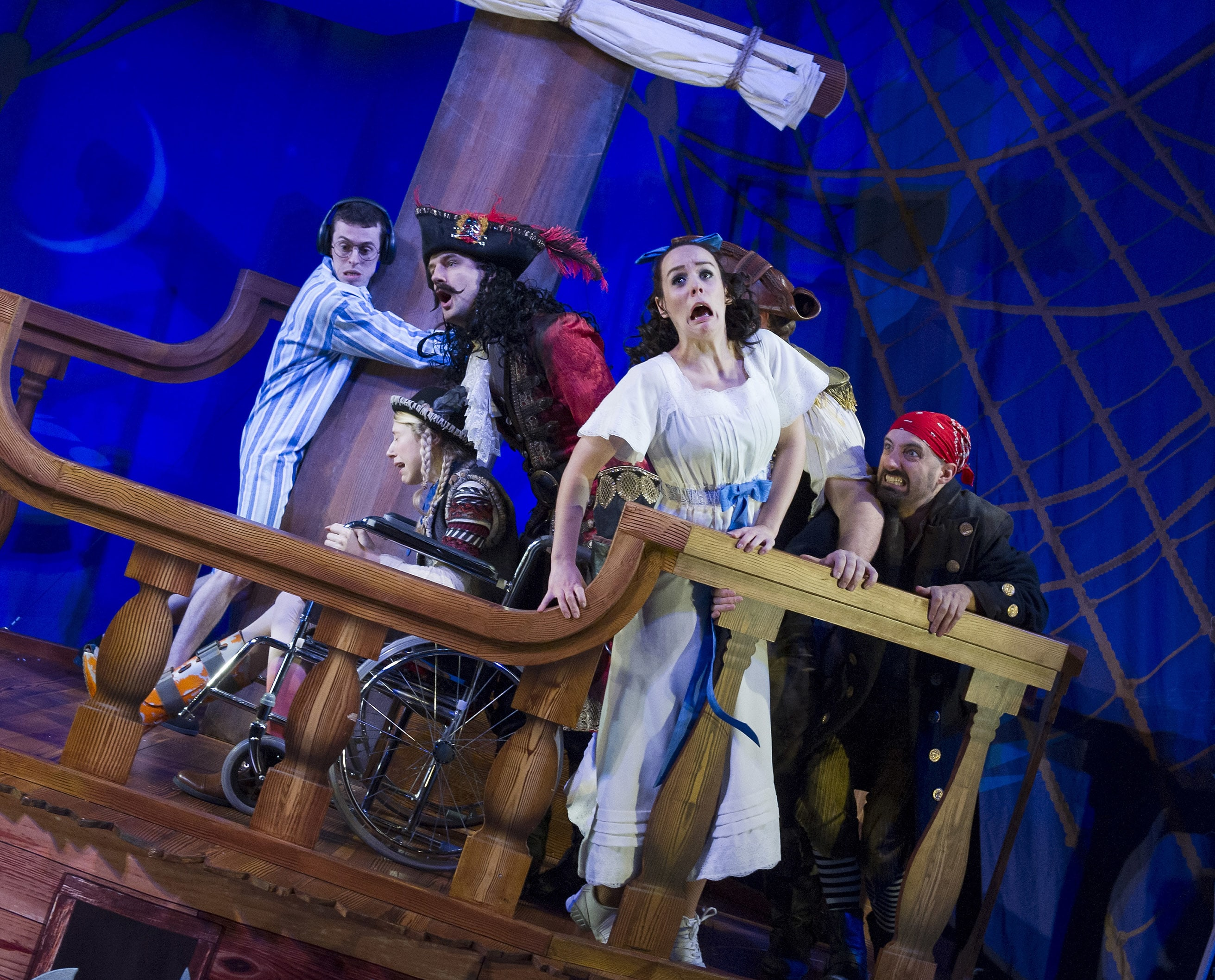 Peter Pan Goes Wrong Production Shot