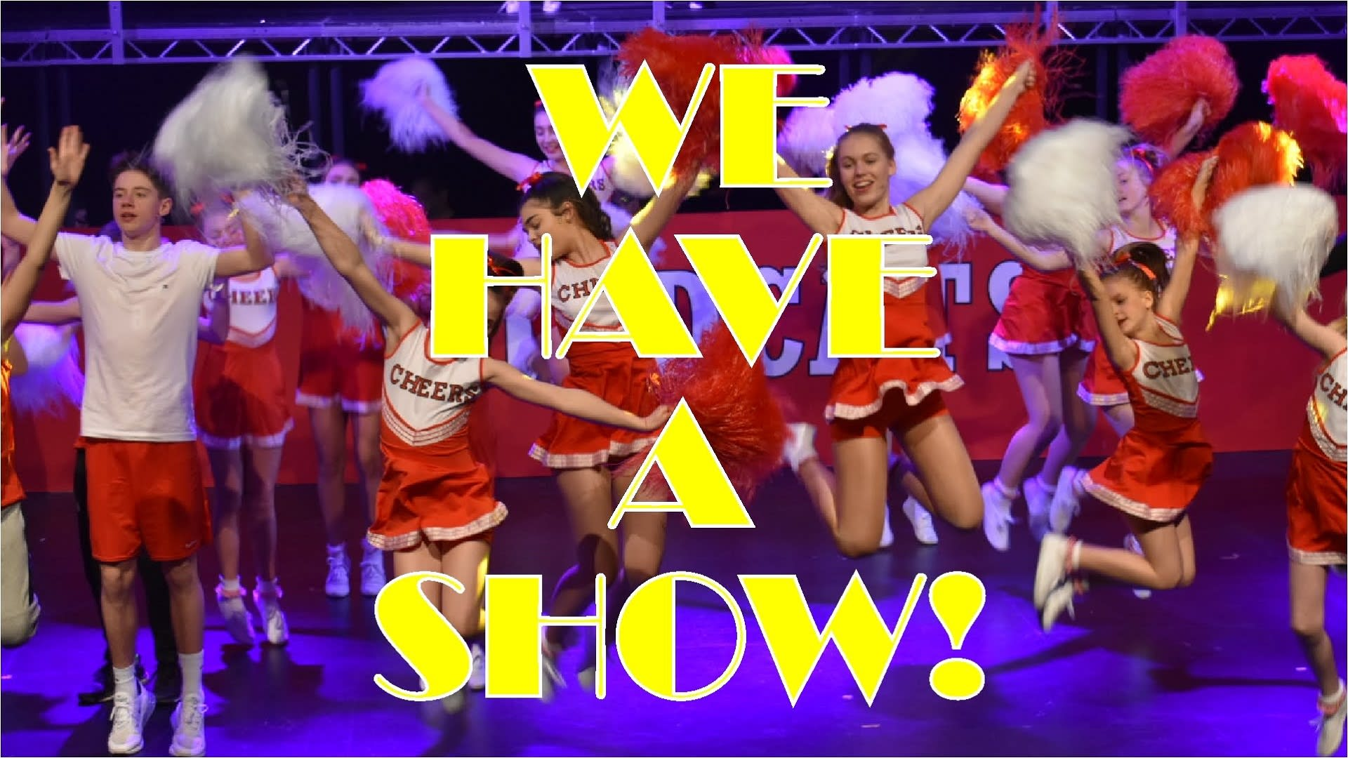 We Have A Show! header