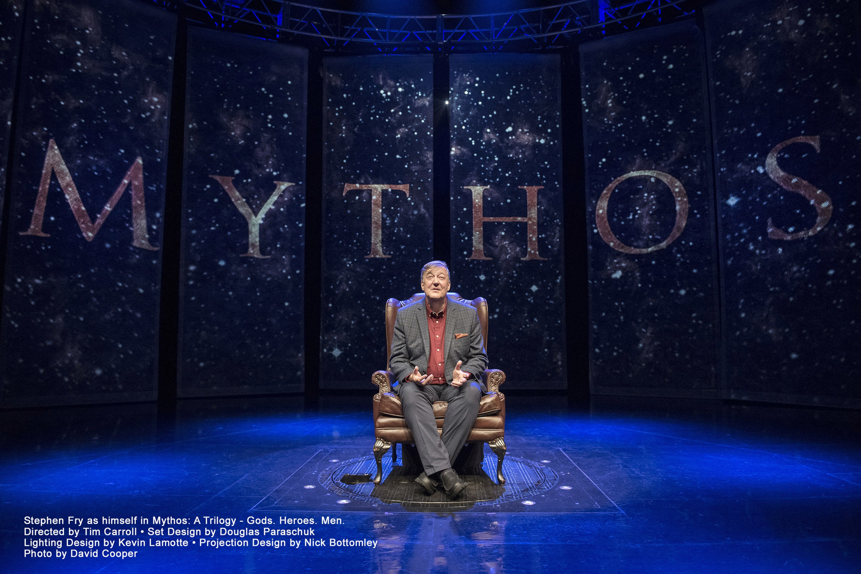 Stephen Fry Mythos Trilogy - New Theatre Oxford - ATG Tickets
