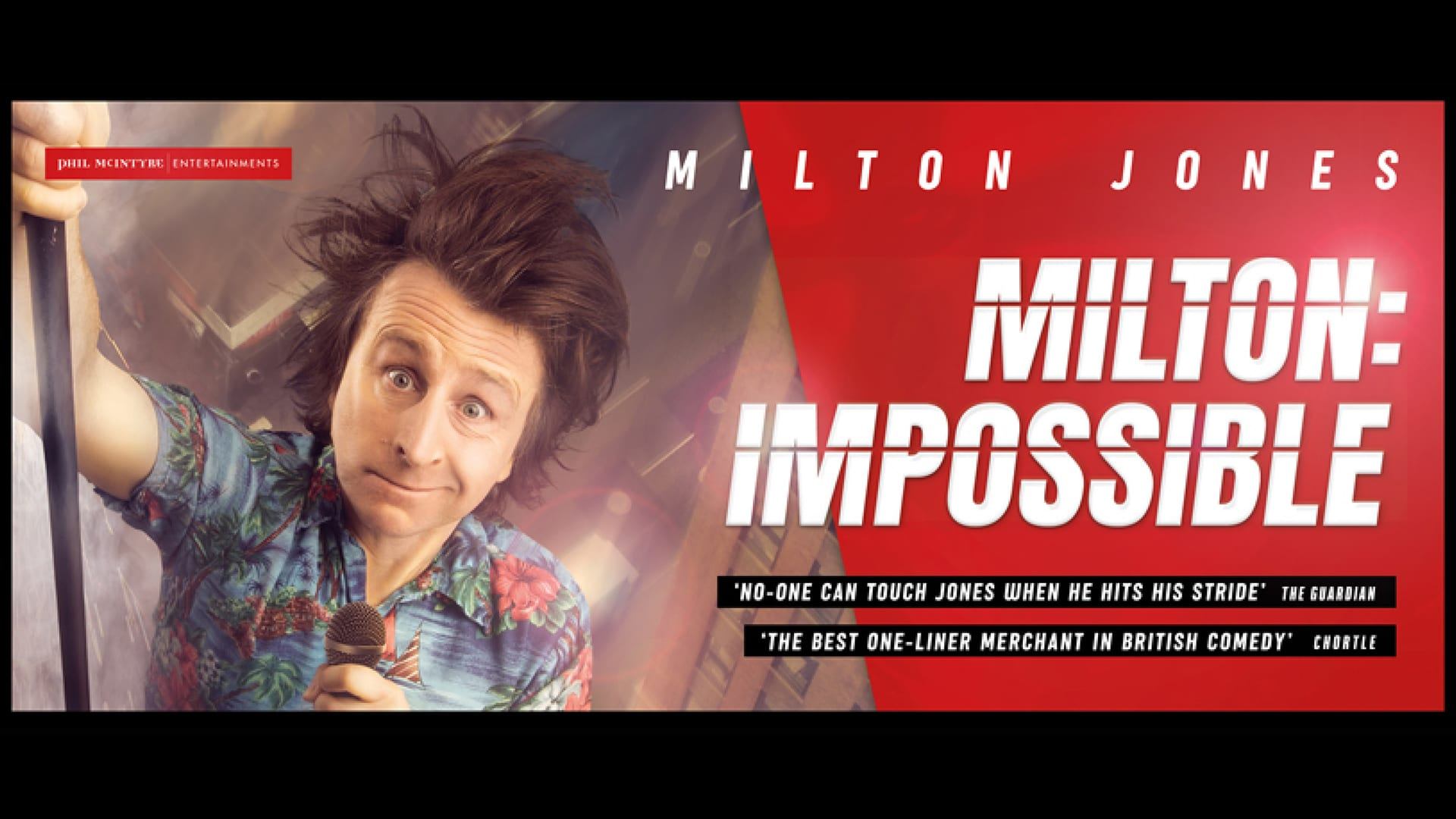 Milton Jones' Head