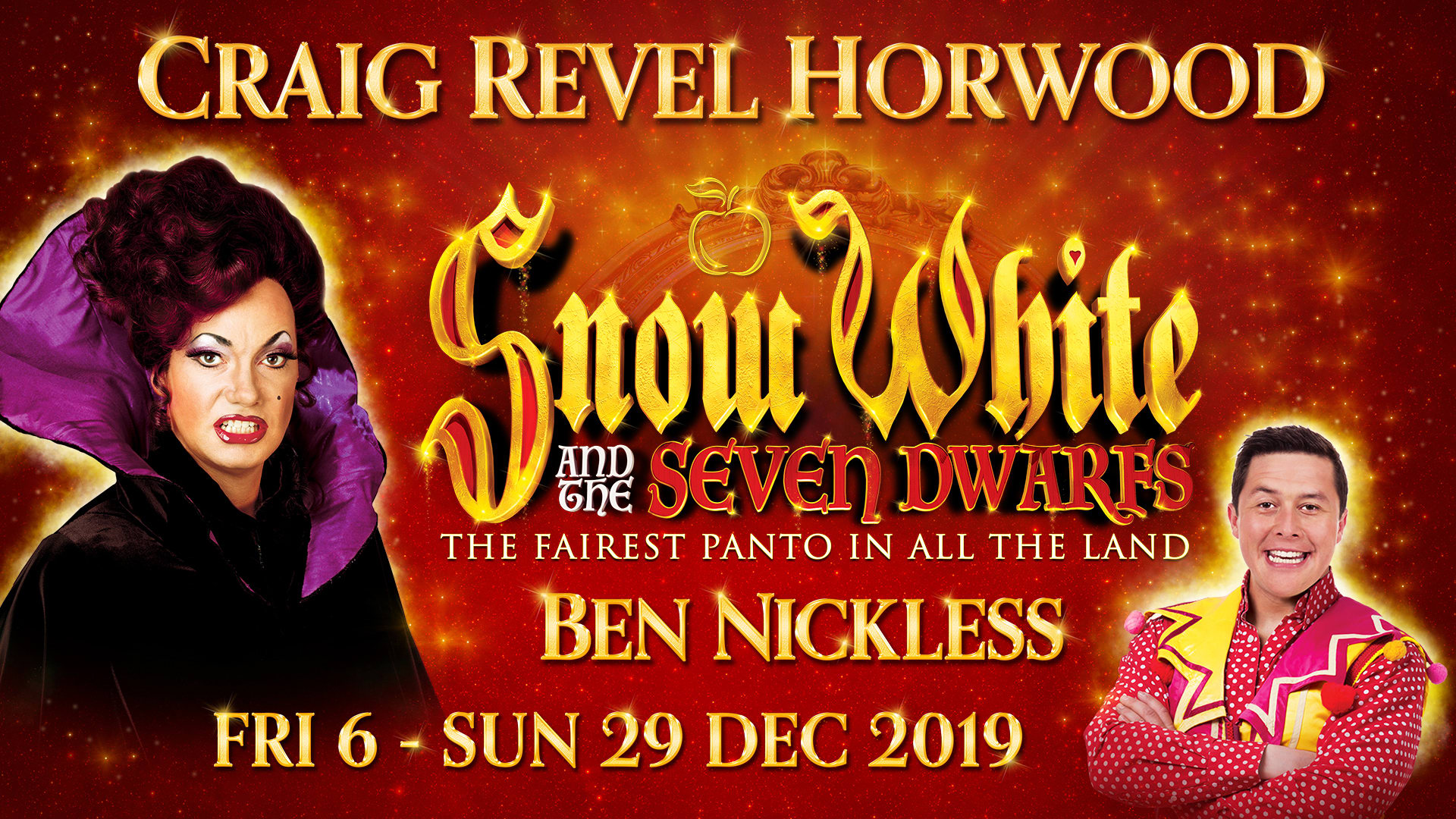 Snow White at Opera House Manchester