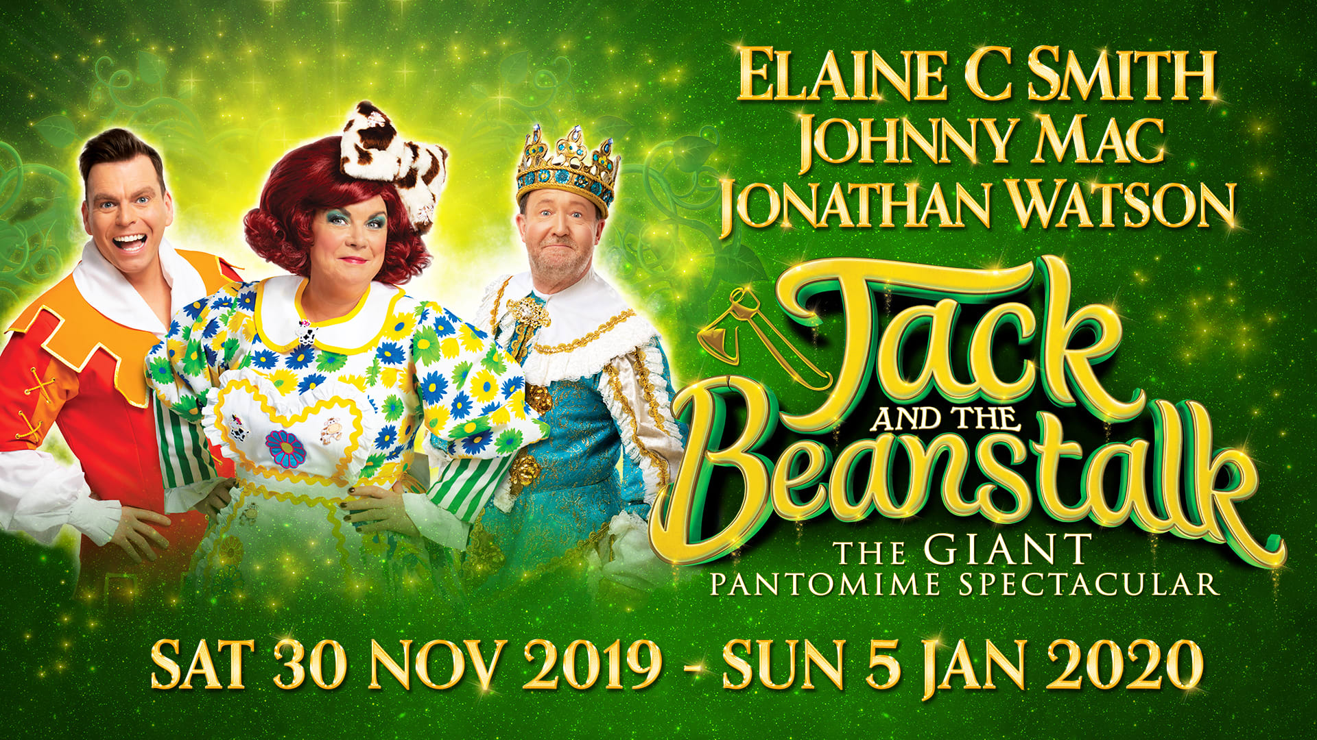 Jack and The Beanstalk at King's Theatre, Glasgow
