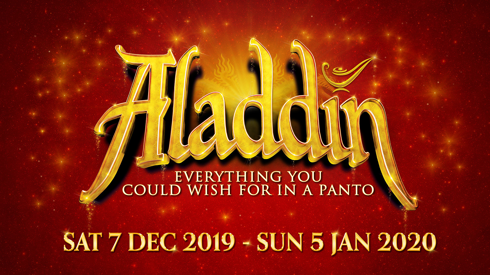 Aladdin at New Victoria Theatre, Woking