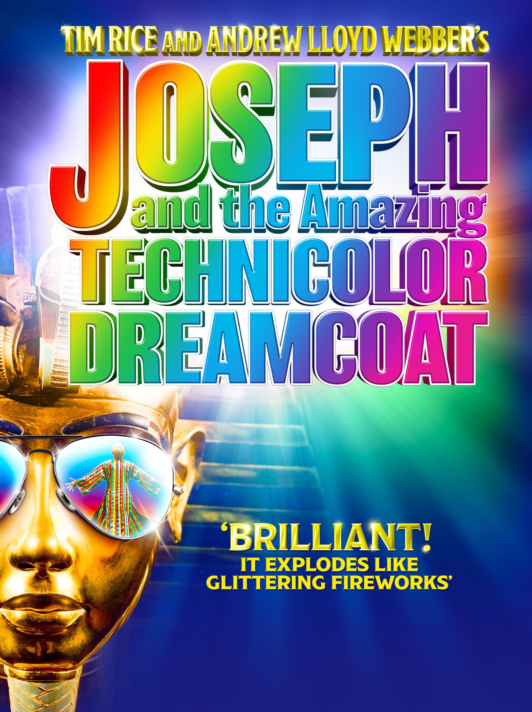 0defb56b01e7f Joseph And The Amazing Technicolor Dreamcoat - New Theatre Oxford ...