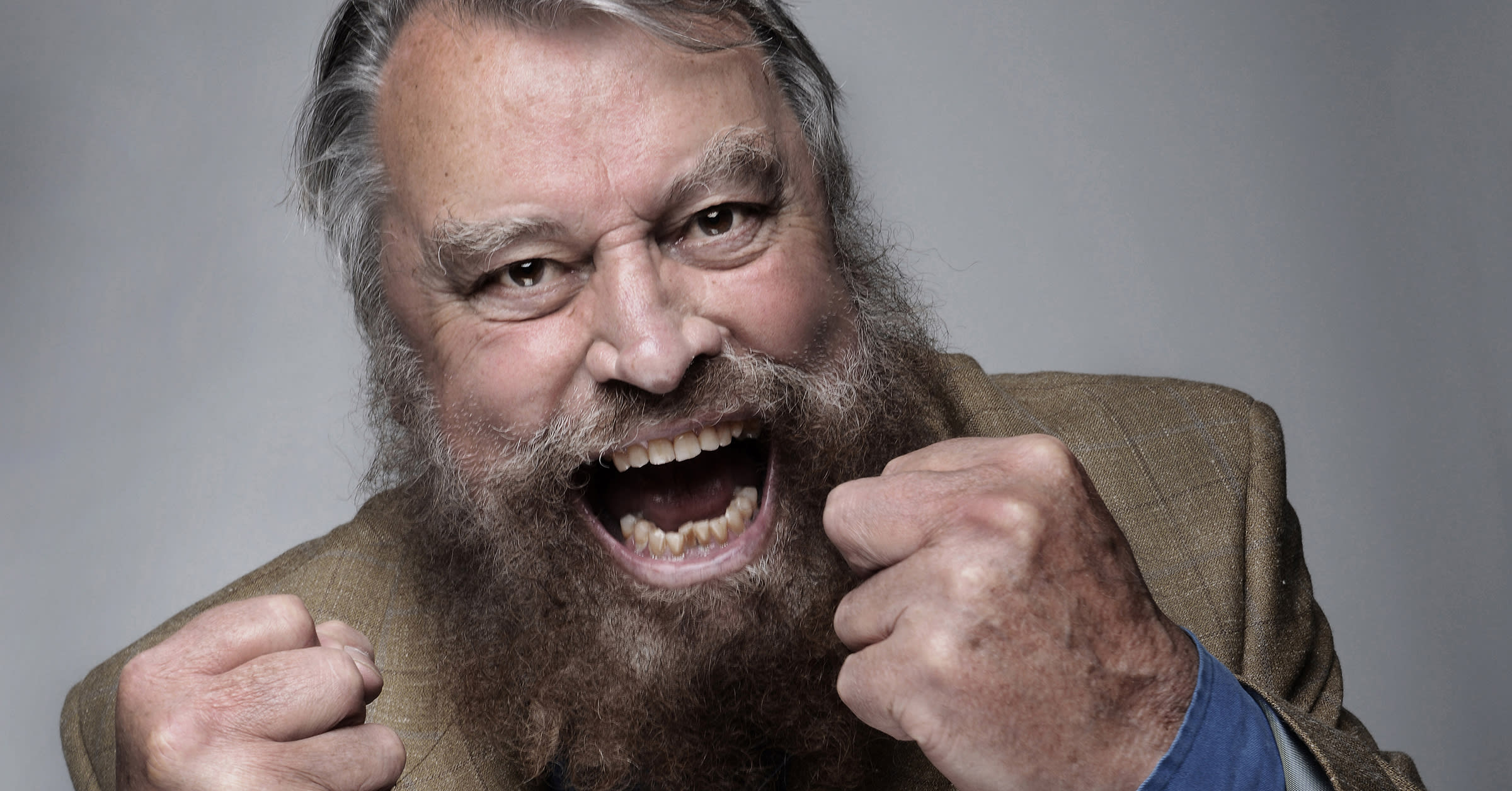 Brian Blessed header