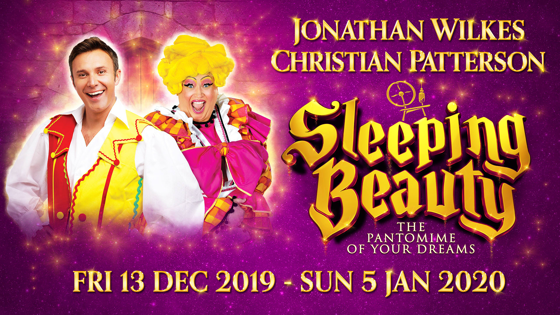 Sleeping Beauty at Regent Theatre, Stoke