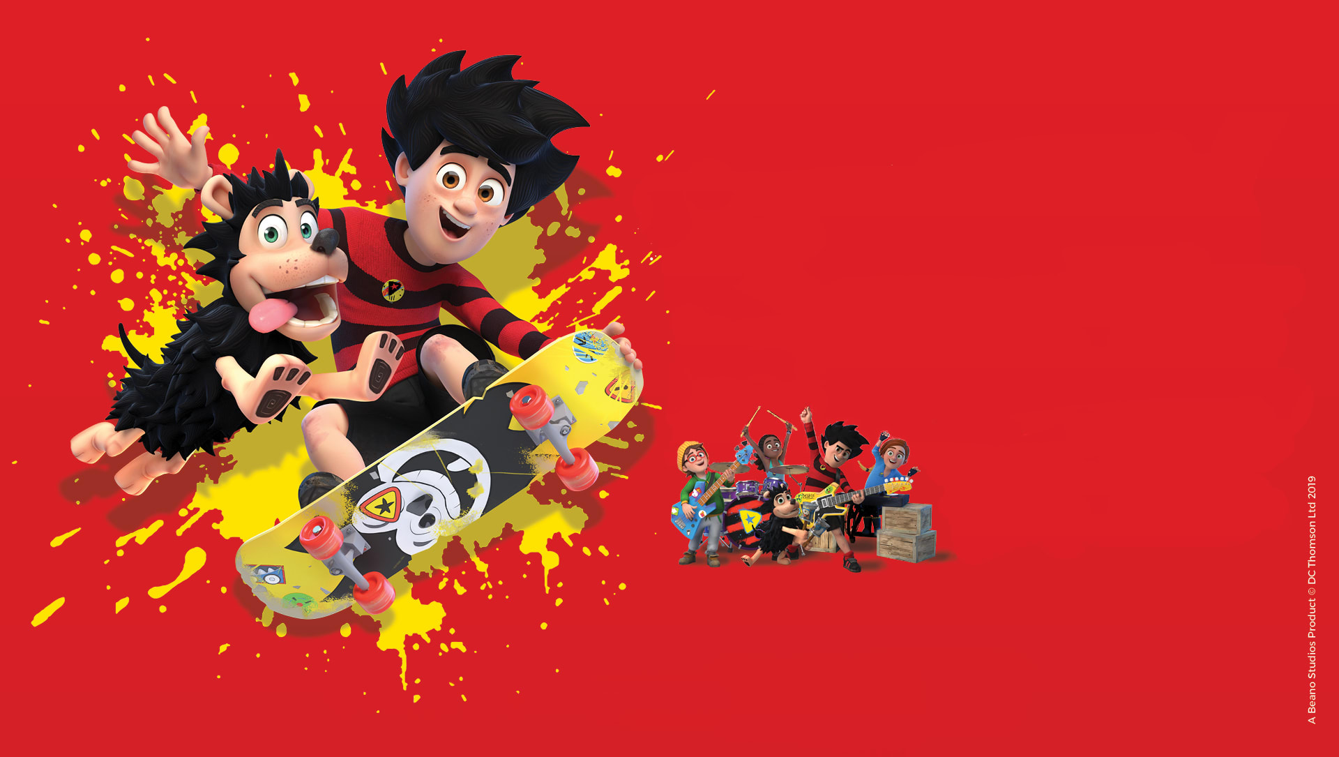 Dennis & Gnasher Unleashed Prod Shot