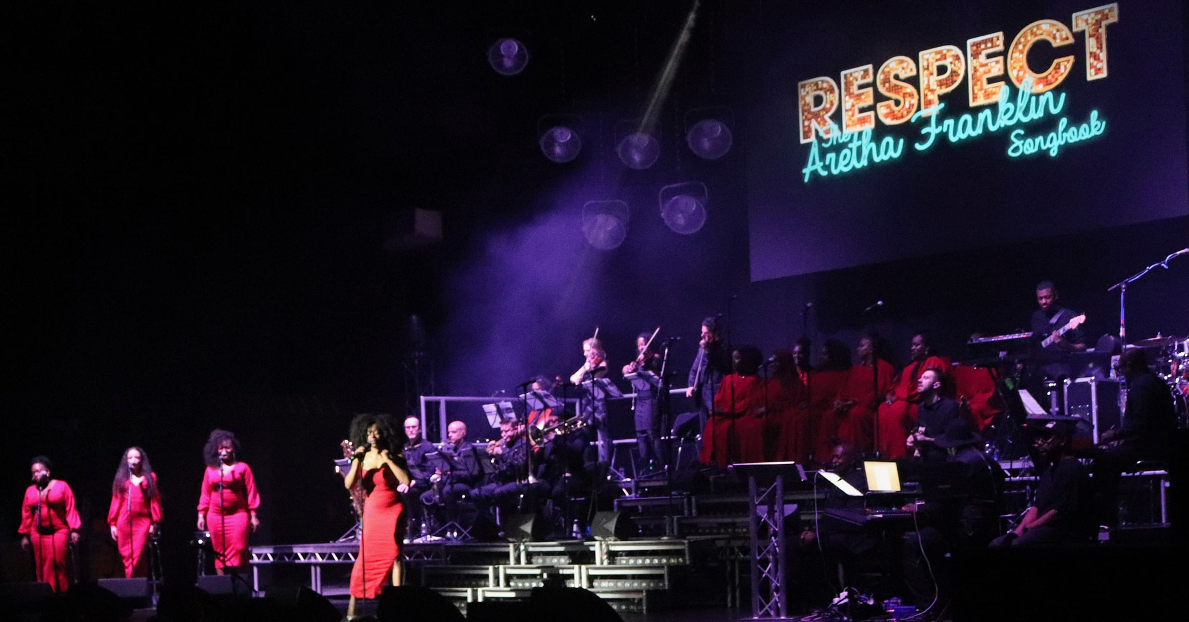 Respect - The Aretha Franklin Songbook header