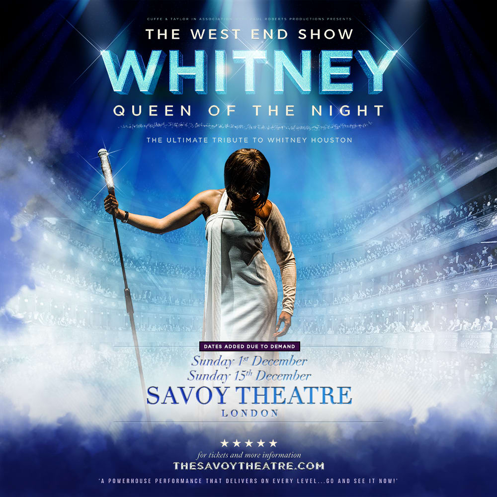 Whitney - Queen of the Night at Savoy Theatre