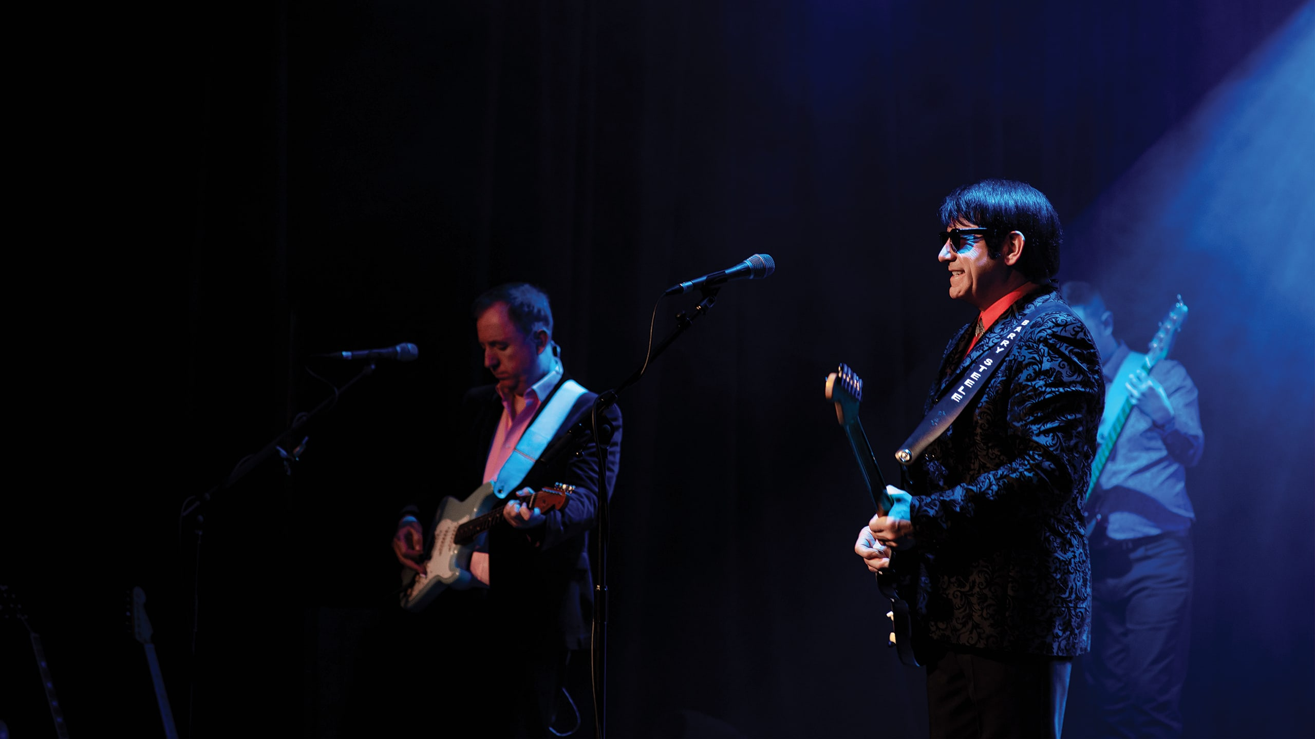 Barry Steele & Friends - 'The Roy Orbison Story' Production Shot