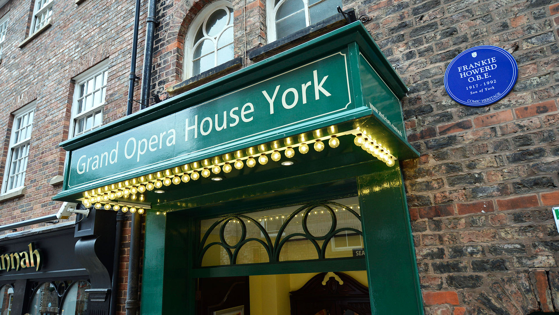 Grand Opera House York External