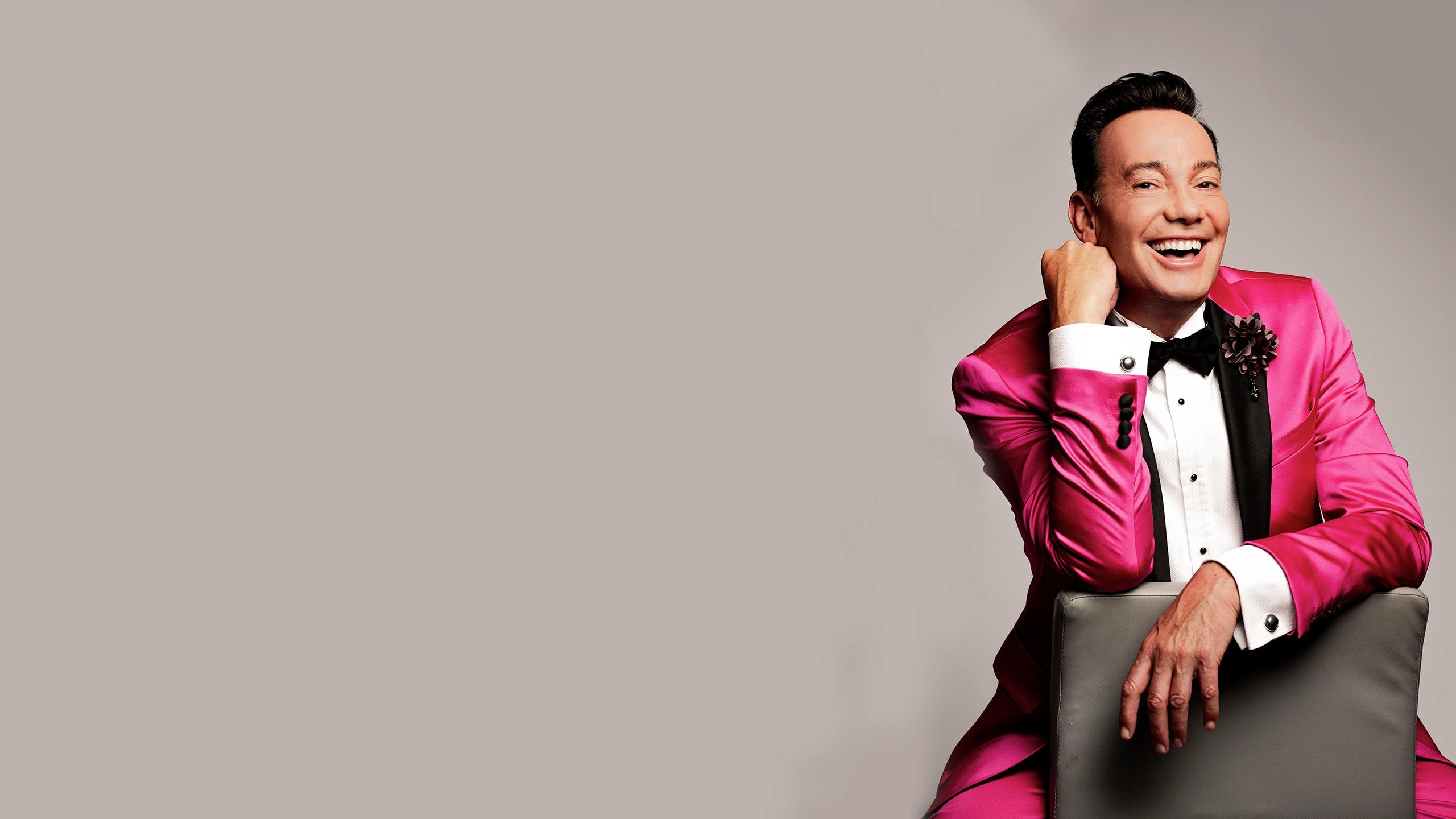 Craig Revel Horwood - The All Balls And Glitter Tour Prod Shot