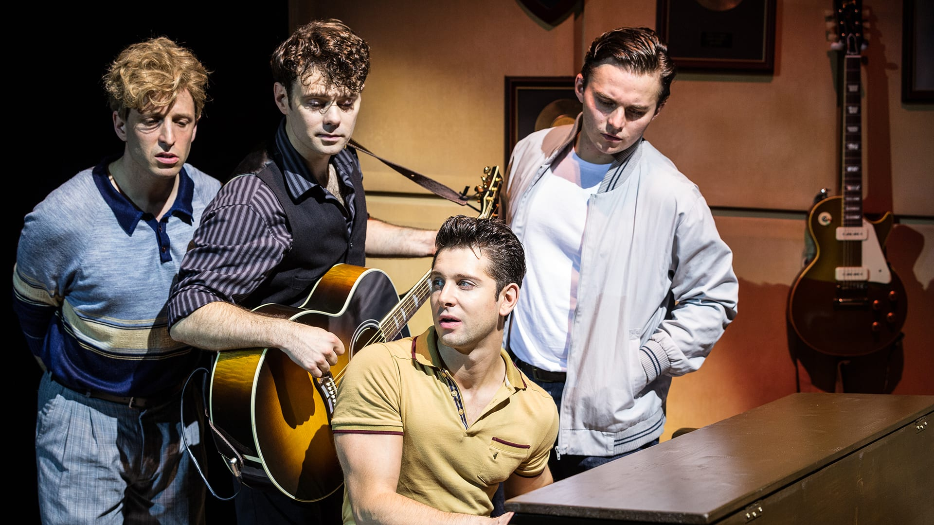 Million Dollar Quartet Prod Shot