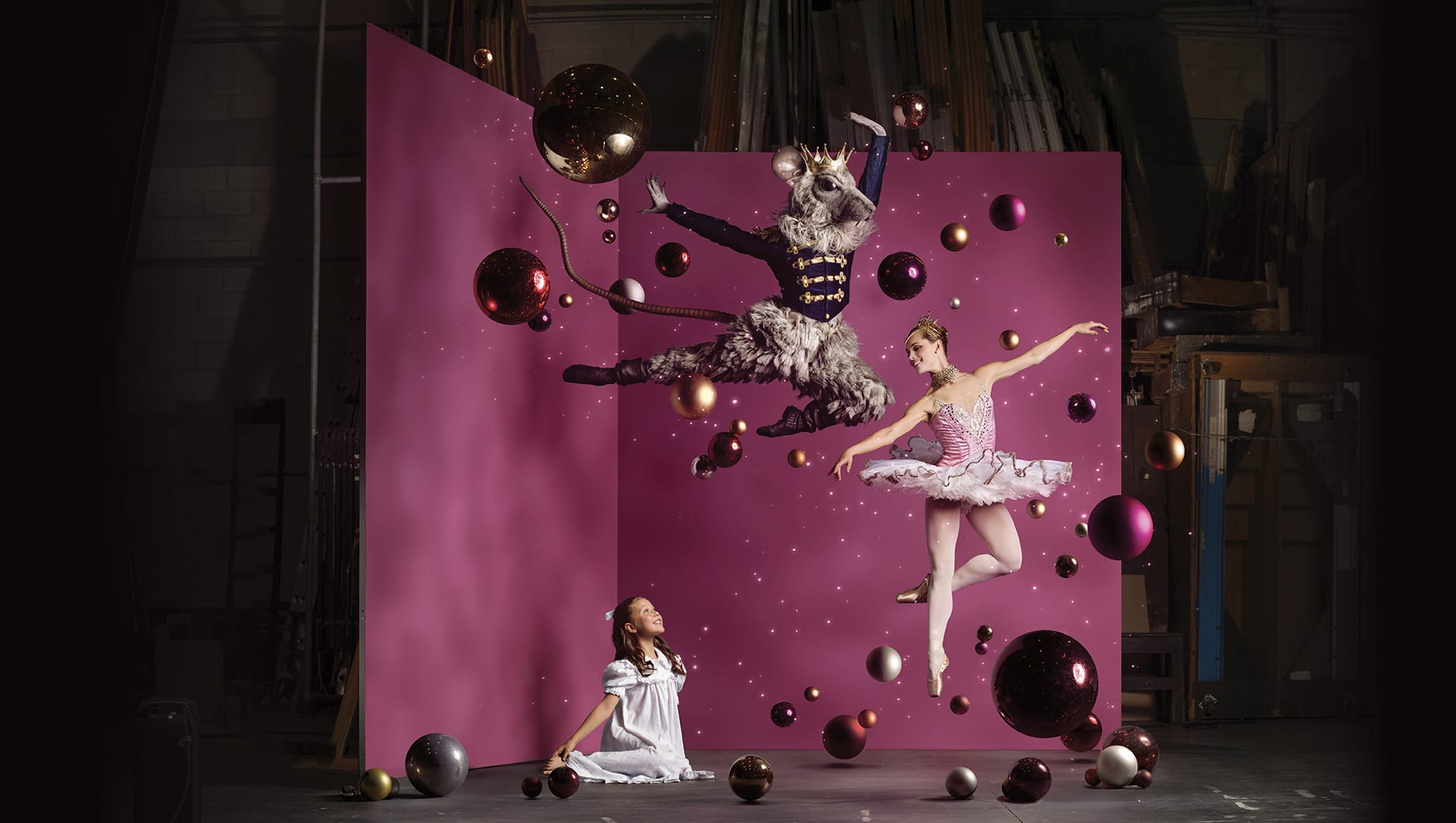 Scottish Ballet The Nutcracker Prod Shot