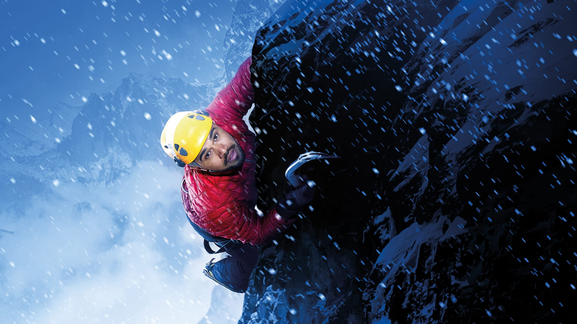 Touching the Void Production Shot
