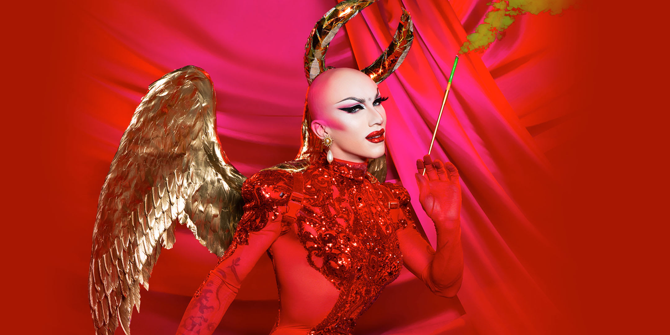 Sasha Velour - Smoke & Mirrors Prod Shot