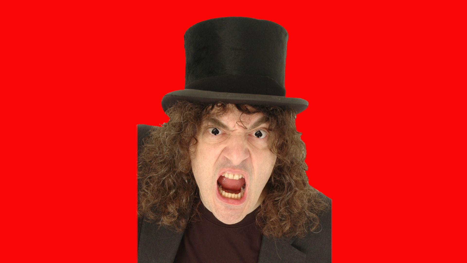 Jerry Sadowitz Prod Shot