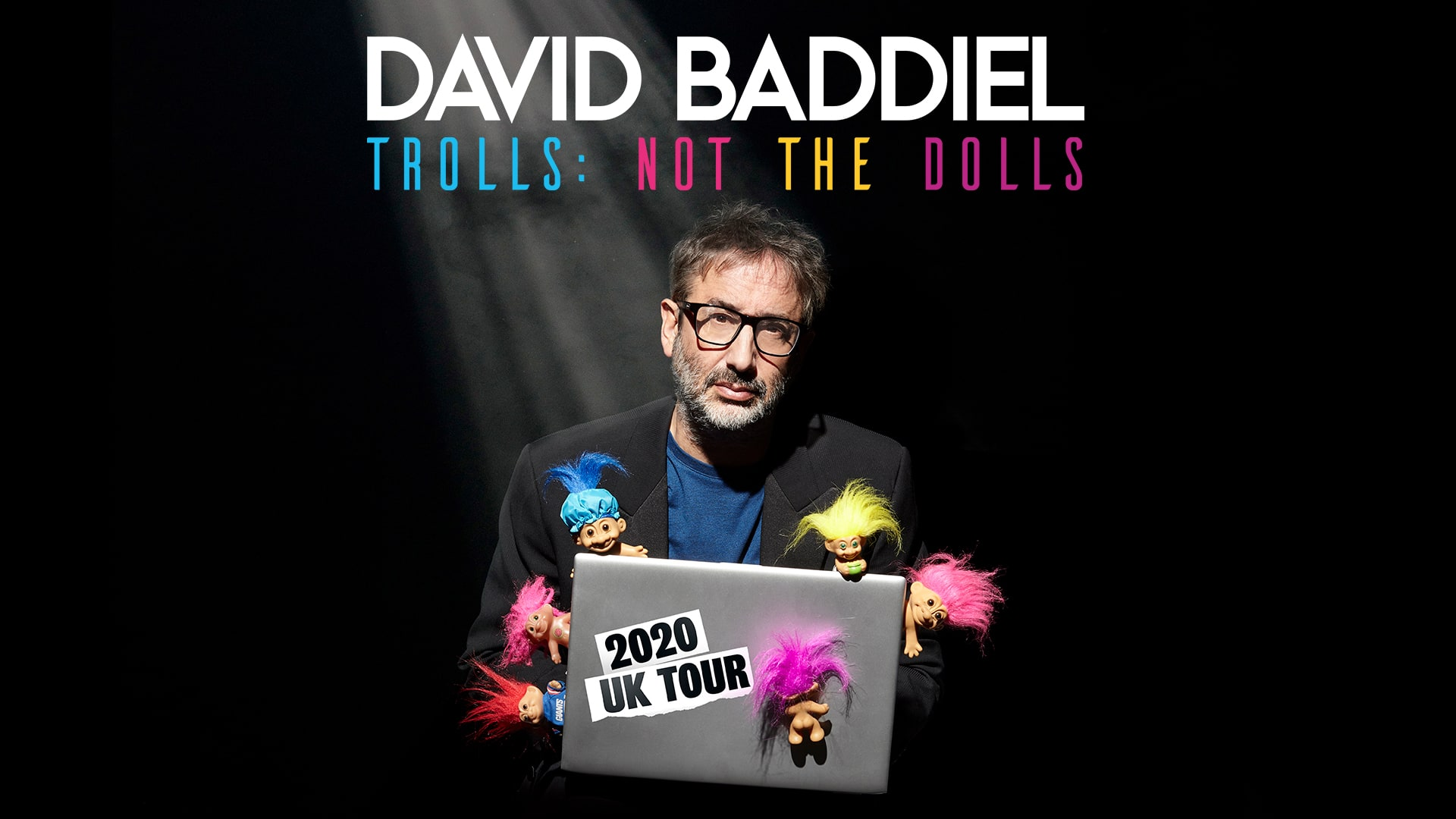 David Baddiel - Trolls Not The Dolls Title Shot