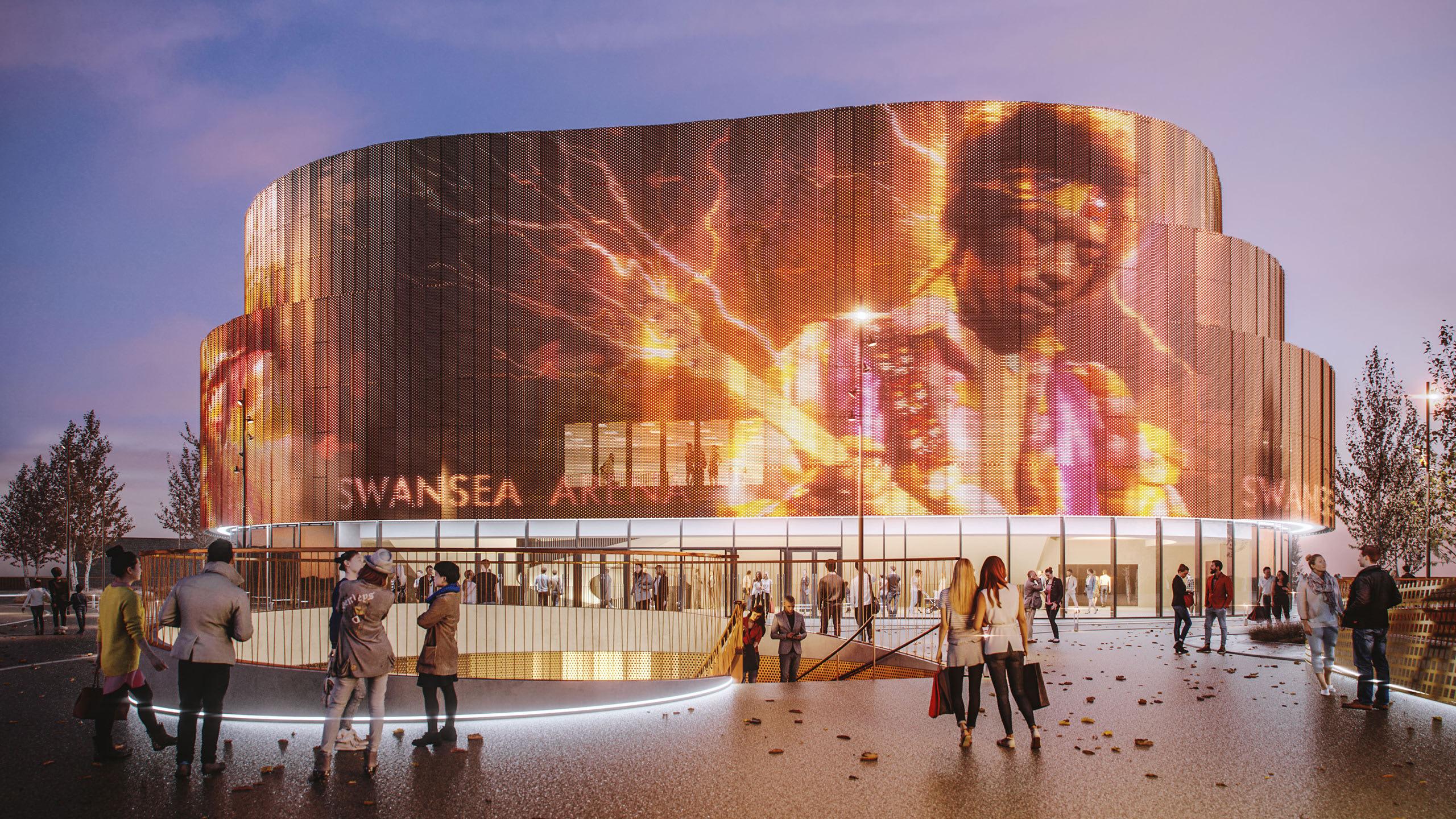 Swansea Arena External
