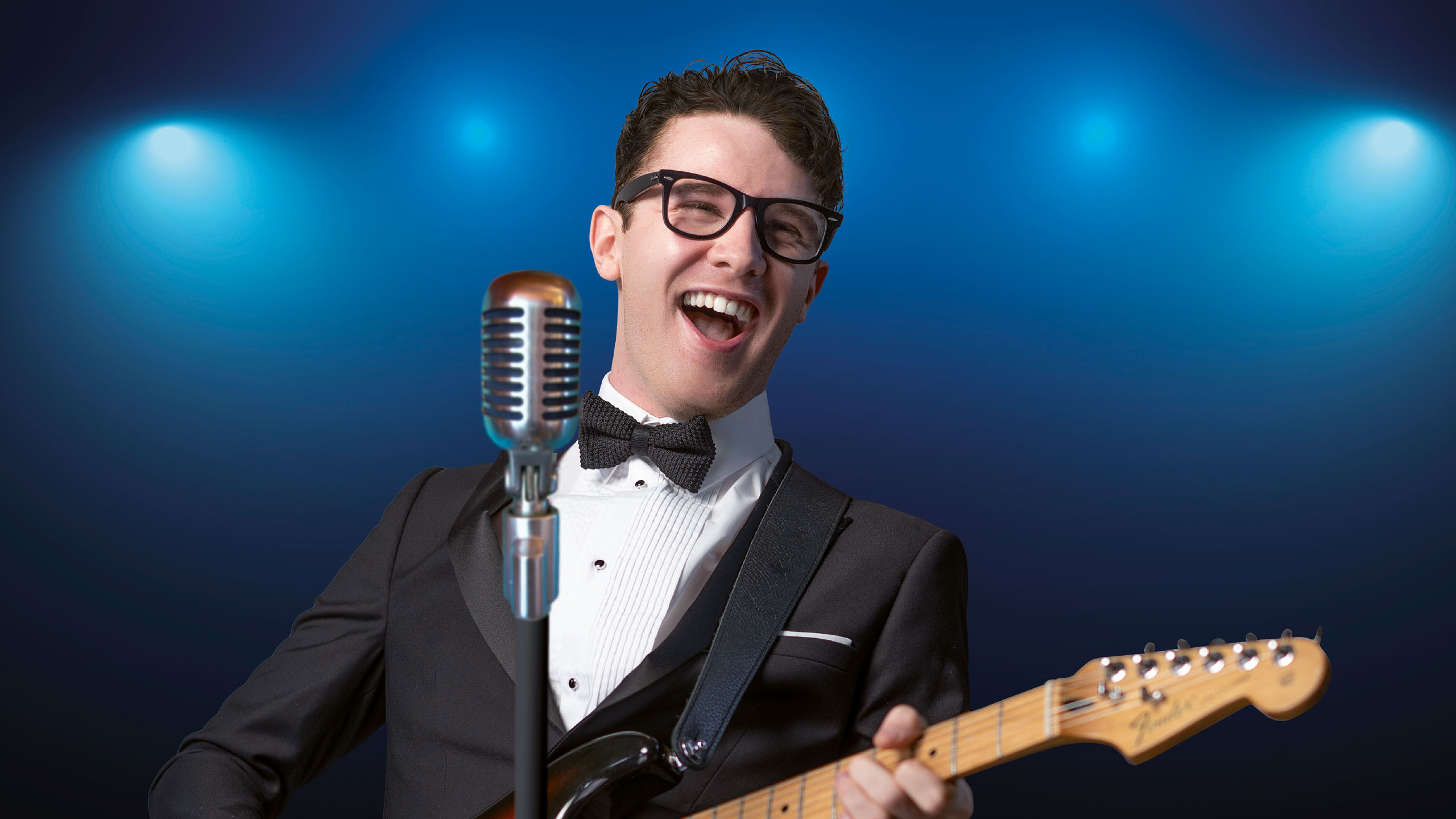 Buddy Holly and The Cricketers Prod Shot