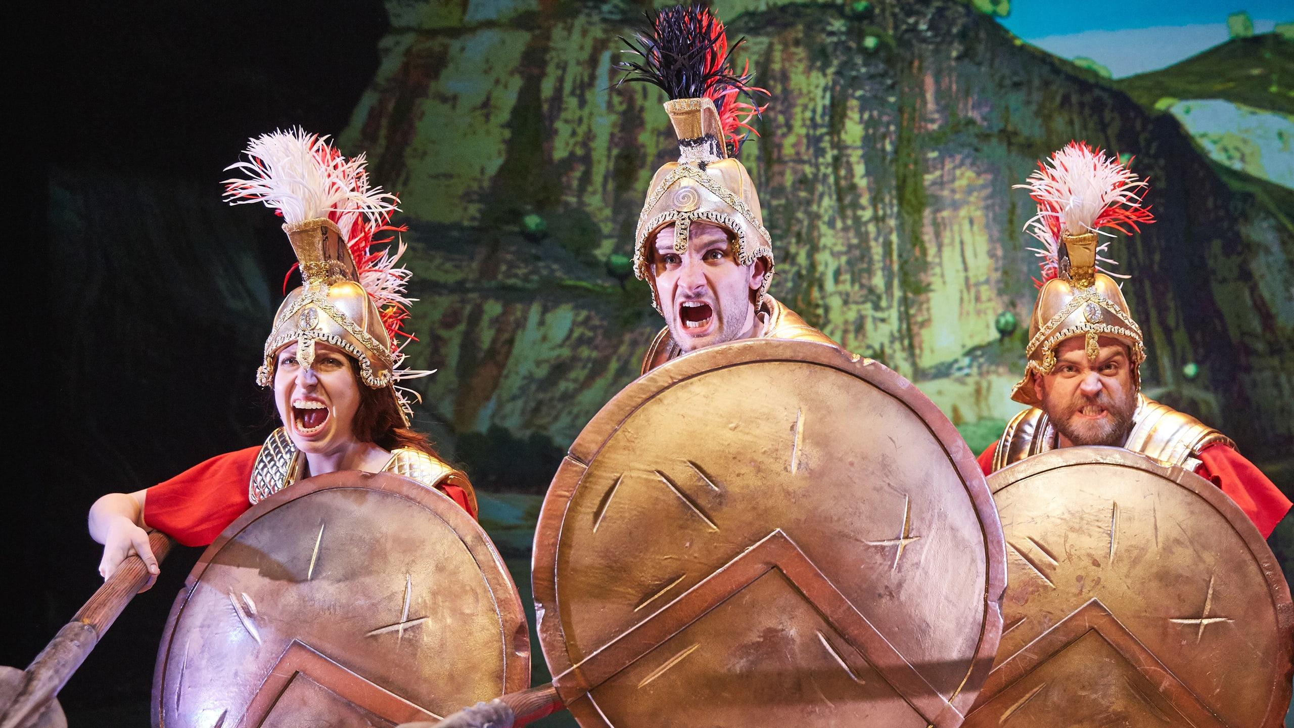 Horrible Histories - Groovy Greeks Prod Shot