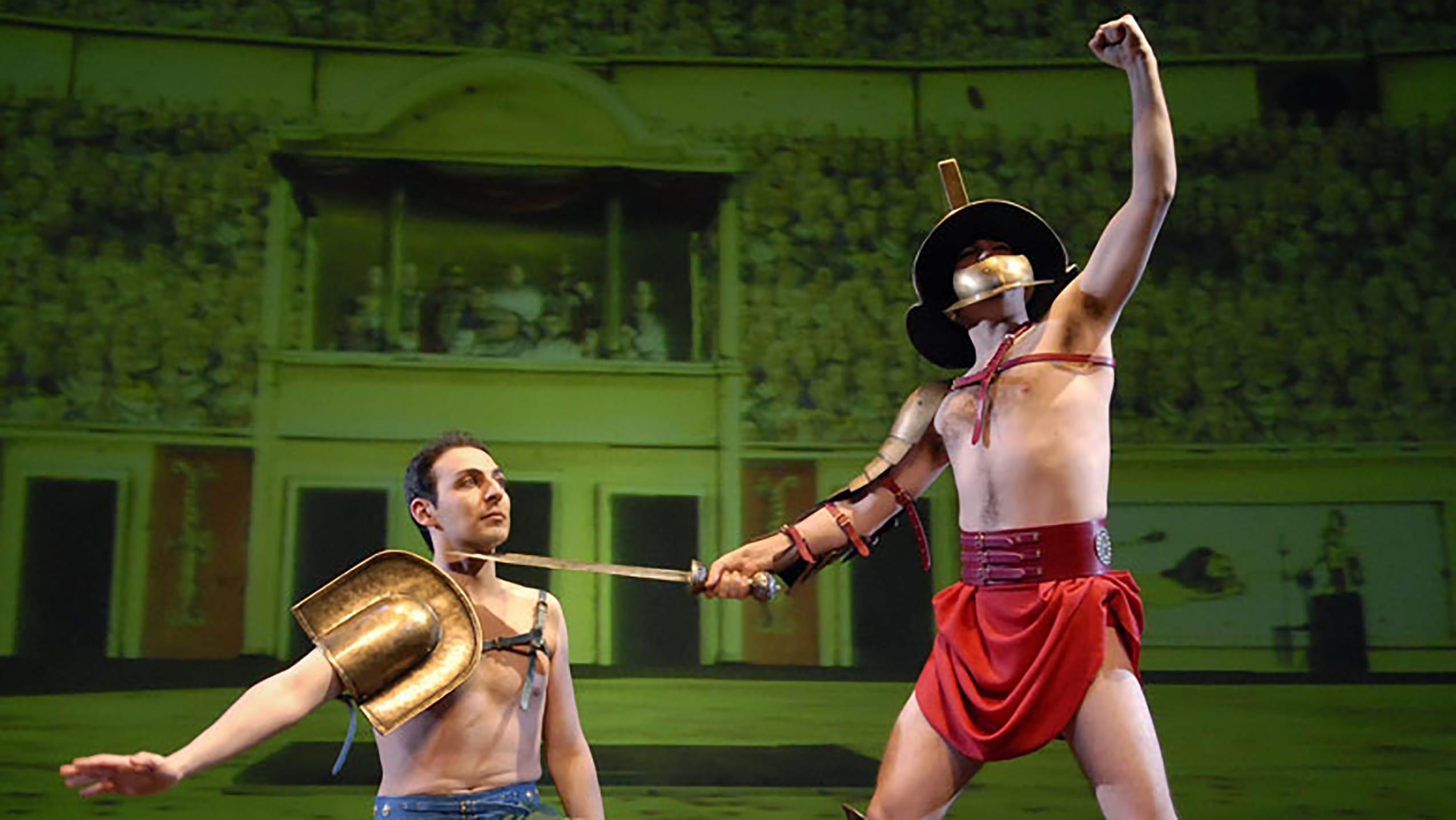 Horrible Histories - Ruthless Romans Prod Shot
