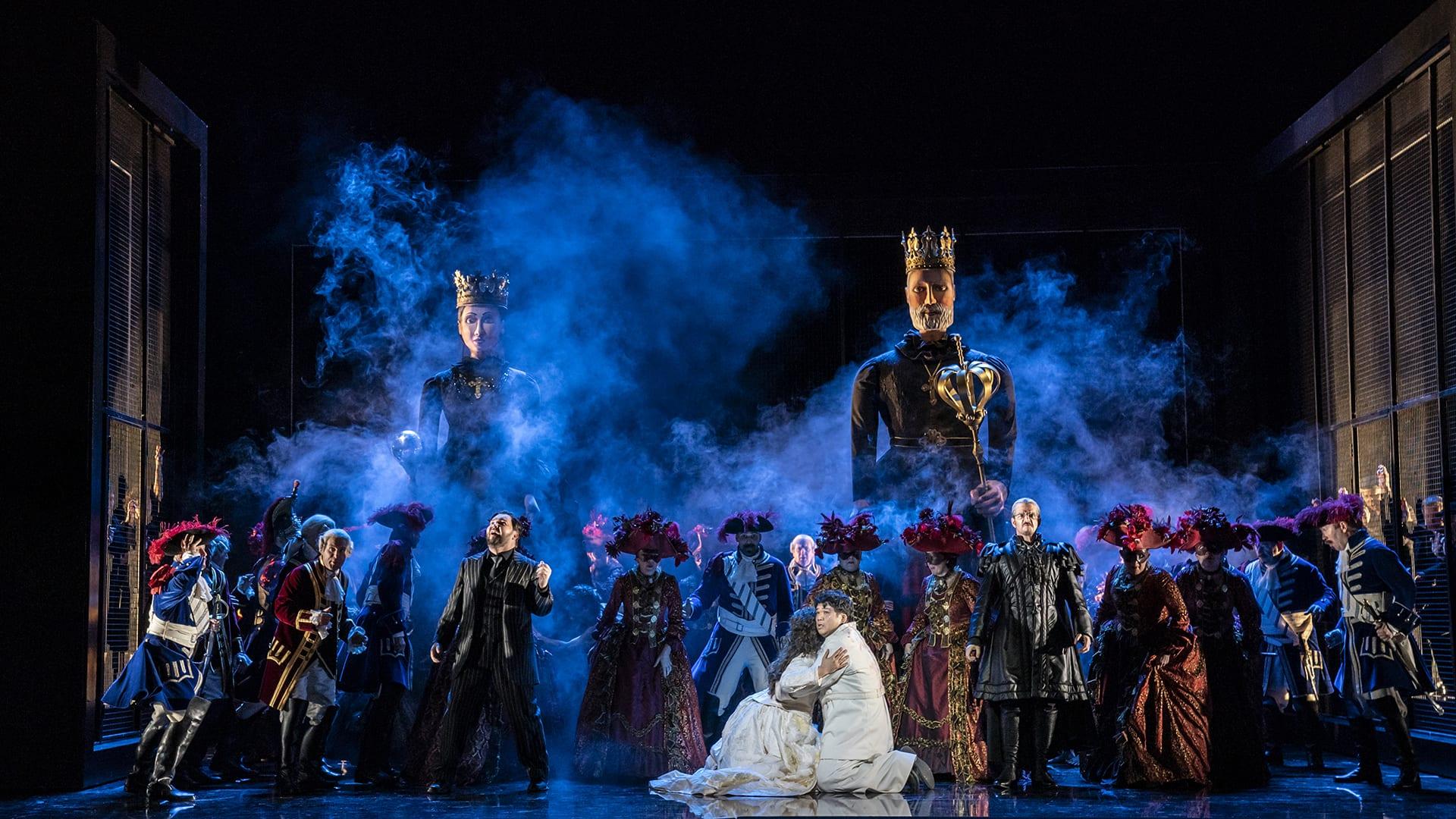 Welsh National Opera - Les Vêpres Siciliennes Prod Shot