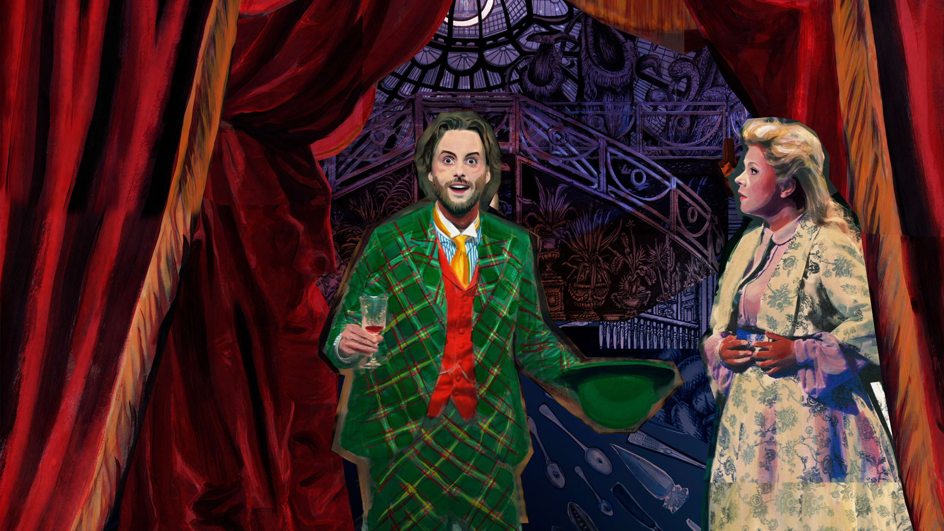 Glyndebourne - The Magic Flute - Behind the Curtain Prod Shot
