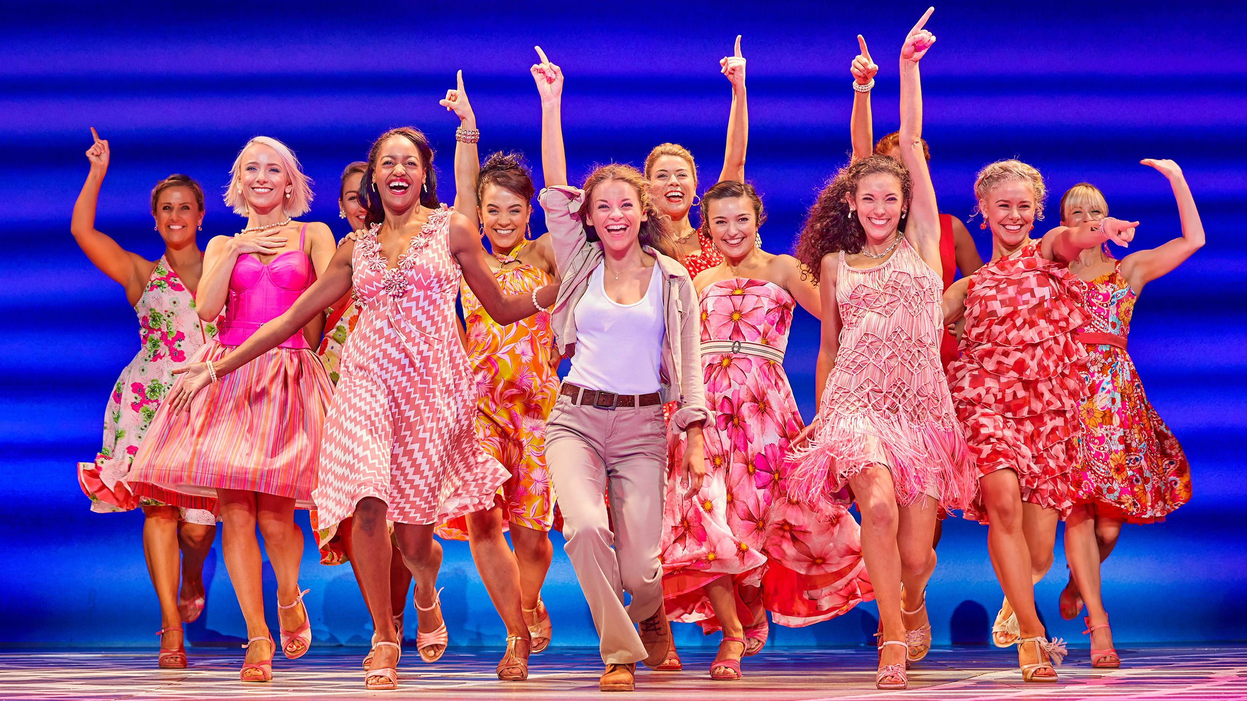 Mamma Mia Production Shot