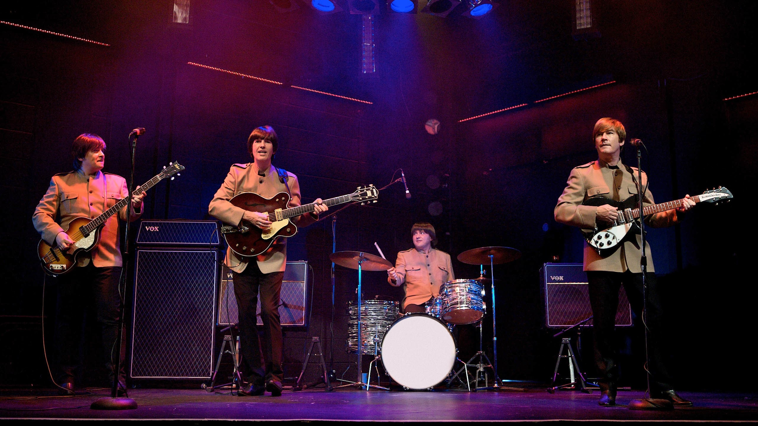 The Magic of the Beatles Production Shot