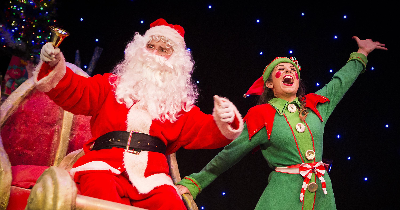 Santa's New Sleigh Production Shot