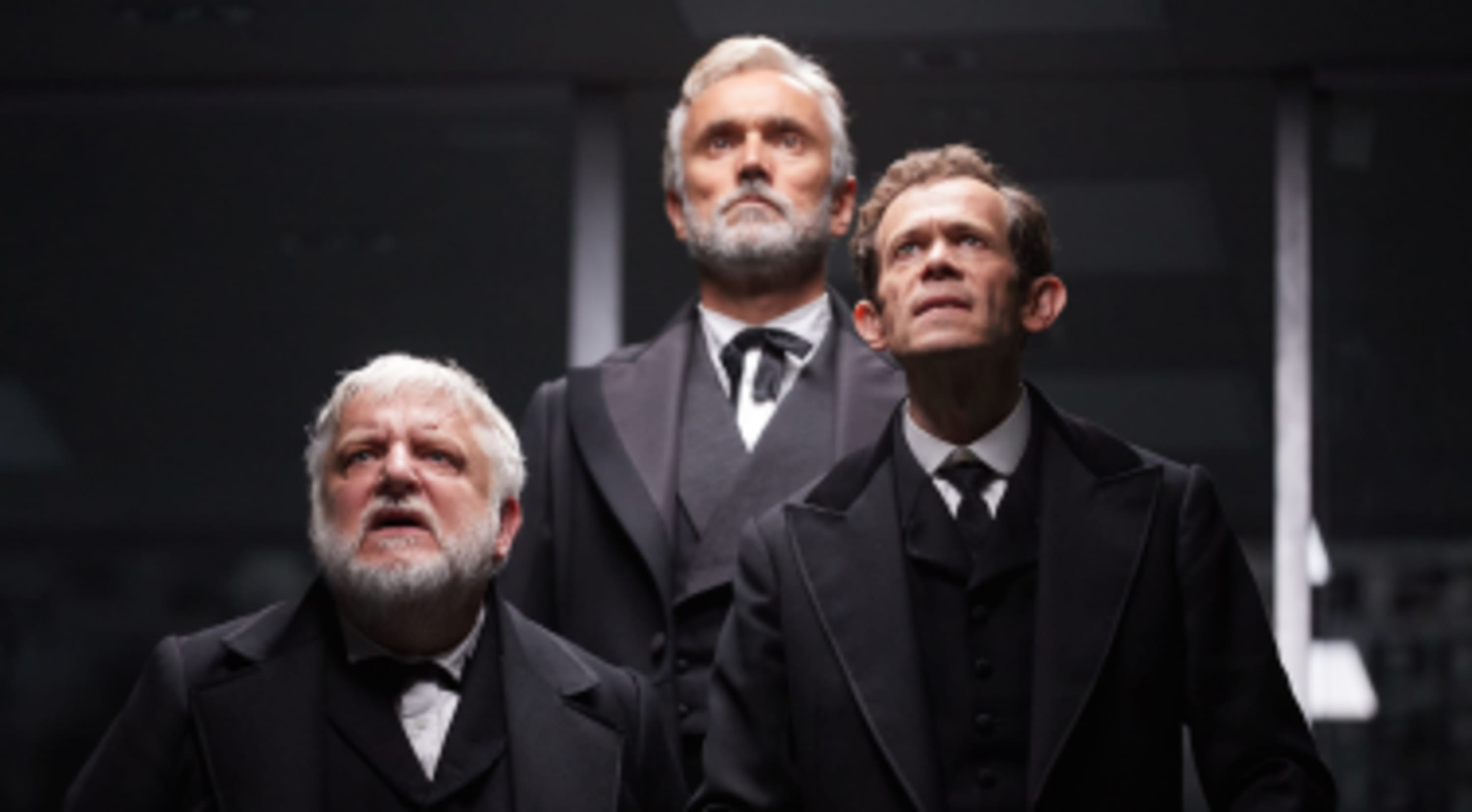 Simon Russell Beale, Adam Godley and Ben Miles on The Lehman Trilogy at Piccadilly Theatre, London