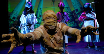 Horrible Histories - Awful Egyptians at New Wimbledon Theatre