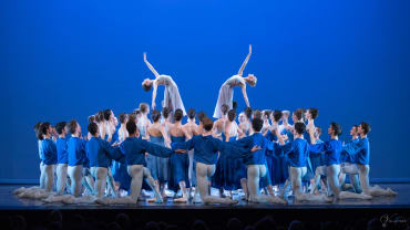English National Ballet School Summer Performance at New Wimbledon Theatre