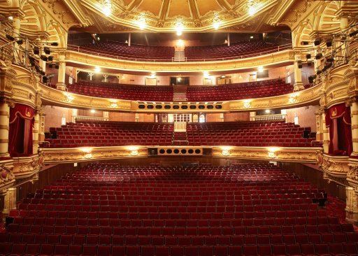Glasgow Kings Theatre internal