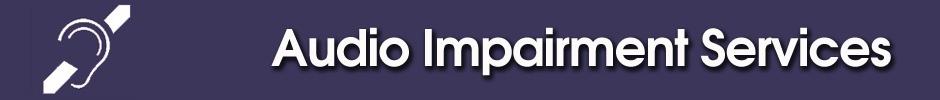 Audio Impairment Services - ATG Tickets