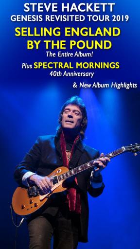 Steve Hackett - Genesis Revisited 2019 at Leas Cliff Hall, Folkestone